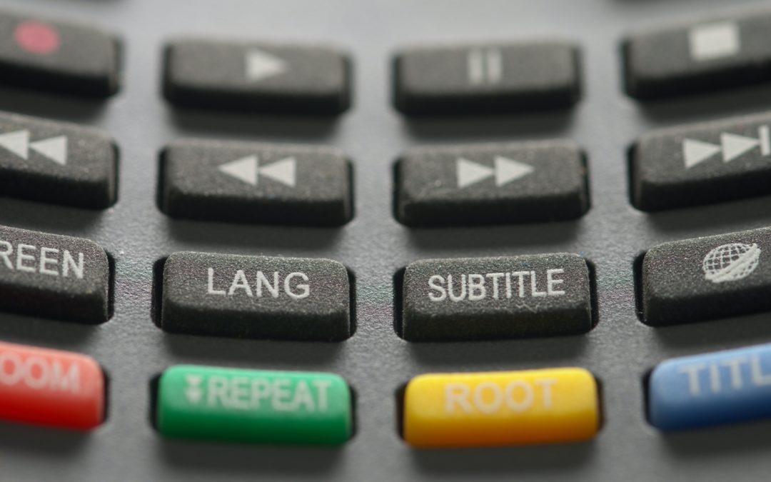 Miksi ja mihin tekstityksiä tarvitaan?